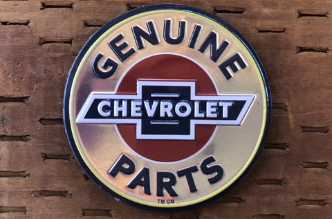 Chevrolet Genuine Parts Magnet