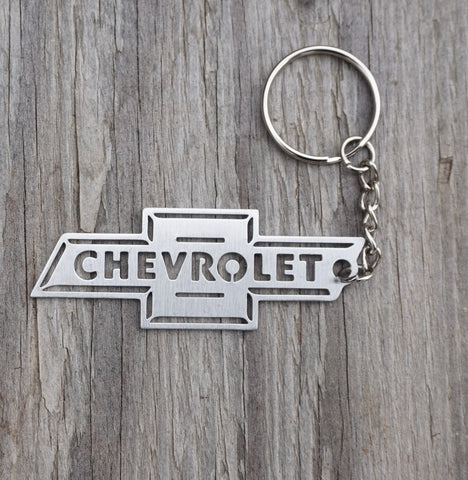 Stainless Steel Chevy Bowtie