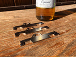 First Generation C10 Stainless Steel bottle opener