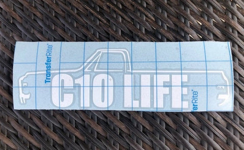 "8.5"" Second generation C10 Life 1967–1972 Decal"