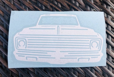 Second generation C10 1967–1972 Decal