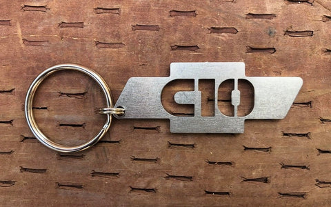 Chevy Bowtie C10 Key chain Stainless Steel