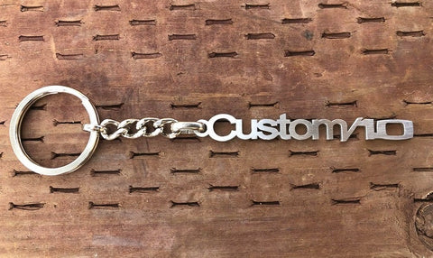 1969 1972 1/2T  C10 Truck Emblem Stainless Steel Keychain