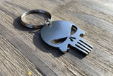 Punisher Stainless Steel Keychain
