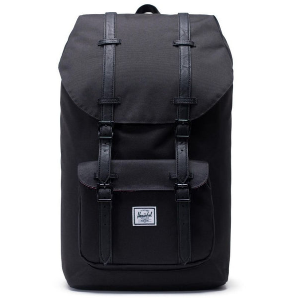 HERSCHEL LITTLE AMERICA BACKPACK IN BLACK/BLACK
