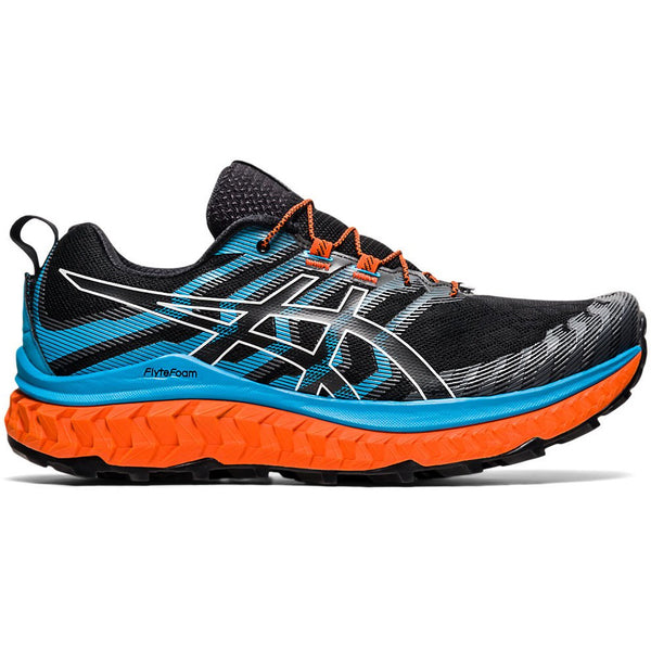 Asics Men's Trabuco Max in Black/Digital Aqua