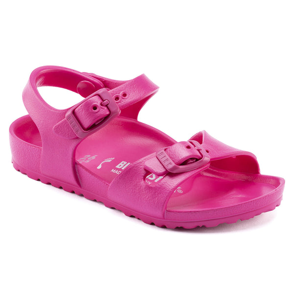Birkenstock Kid's Rio Essentials Eva in Beetroot Purple