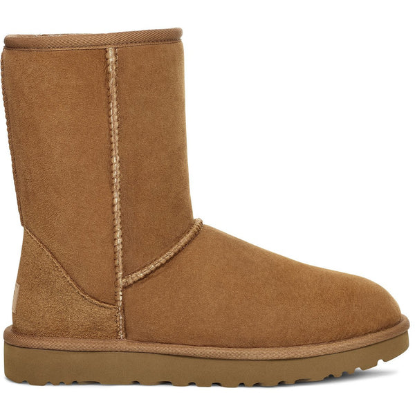 UGG WOMEN'S CLASSIC SHORT II BOOT IN CHESTNUT