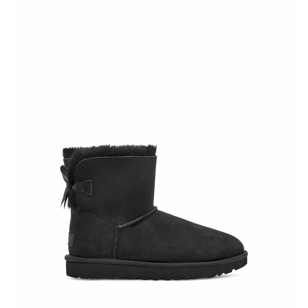 UGG Women's Mini Bailey Bow Ii Boot in Black
