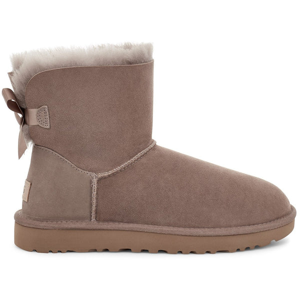 UGG WOMEN'S MINI BAILEY BOW II BOOT IN CARIBOU