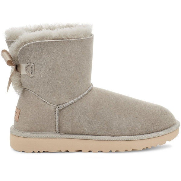 UGG WOMEN'S MINI BAILEY BOW II BOOT IN GOAT