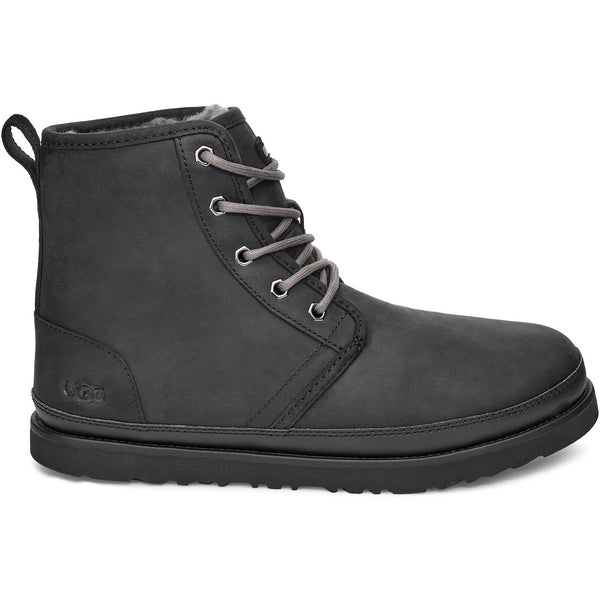 UGG MEN'S HARKLEY WEATHER BOOT IN BLACK TNL