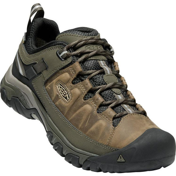 Keen Men's Targhee 3 Waterproof in Bungee Cord Black