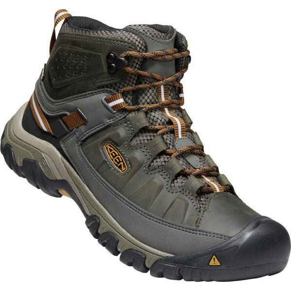 KEEN MEN'S TARGHEE 3 WATERPROOF BOOT IN BLACK OLIVE