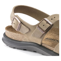 Birkenstock Sonora Oiled Leather Classic Footbed Sandal in Tobacco Brown