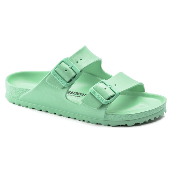 Birkenstock Arizona Eva Essentials Sandal in Bold Jade