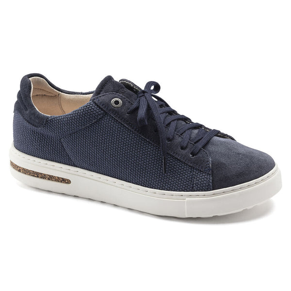Birkenstock Bend Canvas/Suede Low Sneaker in Midnight