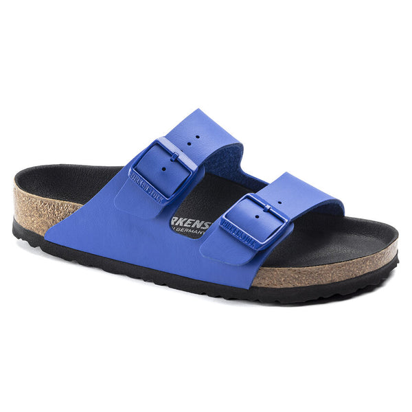 Birkenstock Arizona Birko-Flor Classic Footbed Sandal in Ultra Blue