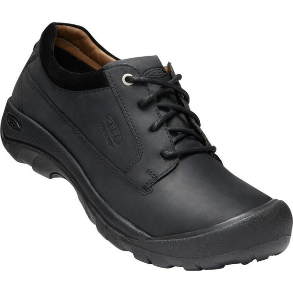 KEEN MEN'S AUSTIN WATERPROOF IN BLACK RAVEN