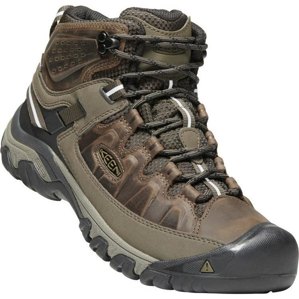 KEEN MEN'S TARGHEE 3 WATERPROOF BOOT IN CANTEEN MULCH