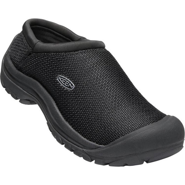 KEEN WOMEN'S KACI SLIDE MESH IN BLACK MAGNET