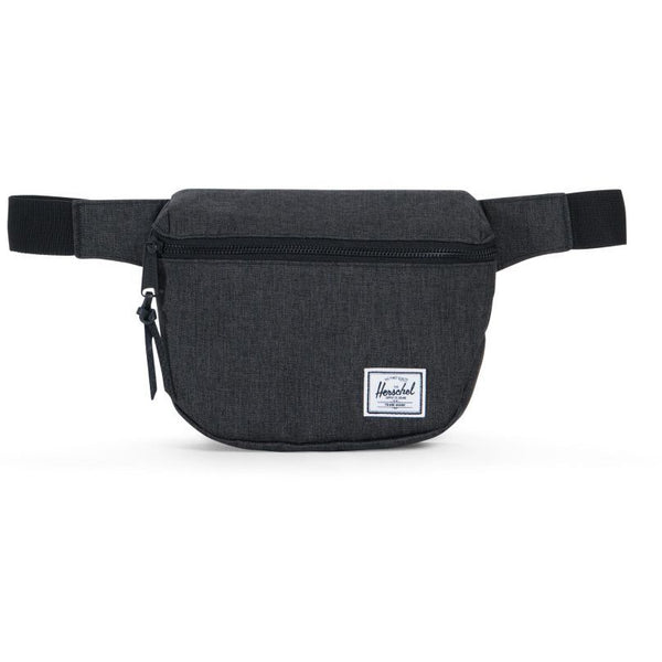 HERSCHEL FIFTEEN HIP PACK IN BLACK CROSSHATCH