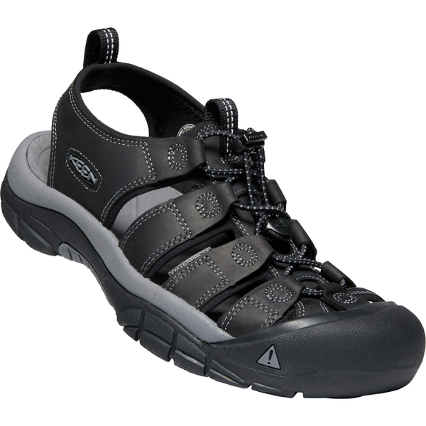 Keen Men's Newport in Black Steel Grey