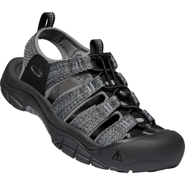 Keen Men's Newport H2 in Black Steel Grey