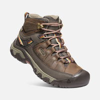 KEEN Women's Targhee III Mid Waterproof Boot in Bungee Cord/Redwood