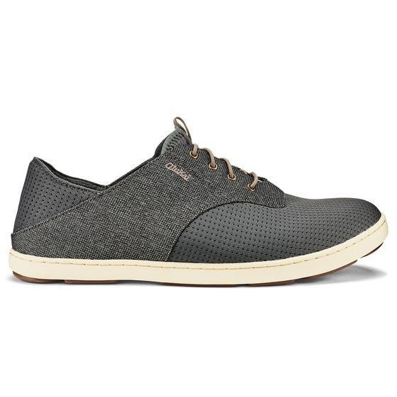 OLU KAI MEN'S NOHEA MOKU SHOE IN CHARCOAL/CLAY