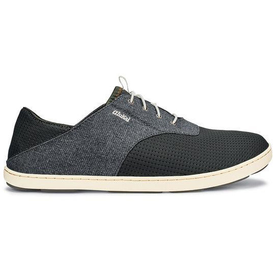 OLU KAI MEN'S NOHEA MOKU SHOE IN DARK SHADOW