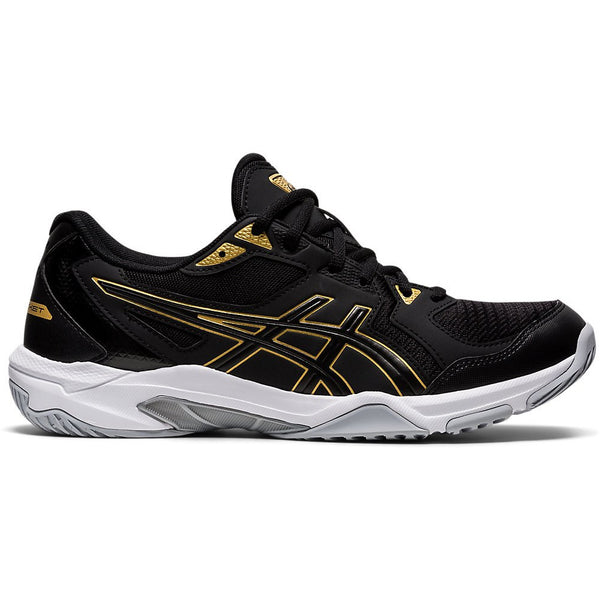 Asics Men's Gel-Rocket 10 in Black/Pure Gold