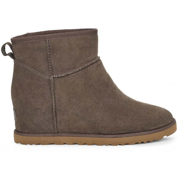 UGG WOMEN'S CLASSIC FEMME MINI BOOT IN SLATE