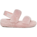 UGG Women's Oh Yeah Slide in Pink Cloud