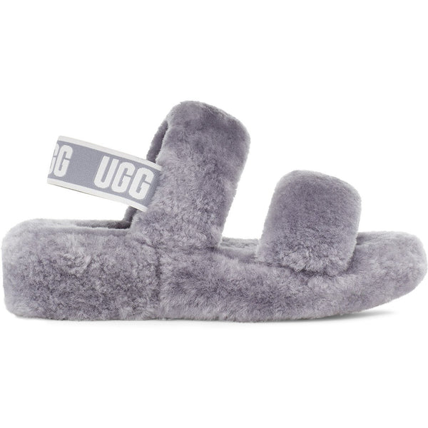 UGG Women's Oh Yeah Slide in Soft Amethyst