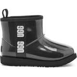 UGG Kid's Classic Clear Mini Ii Boot in Black
