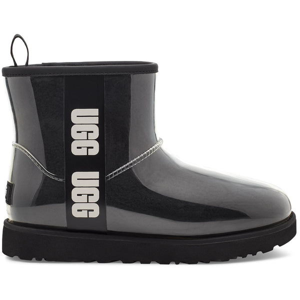 UGG Women's Classic Clear Mini in Black