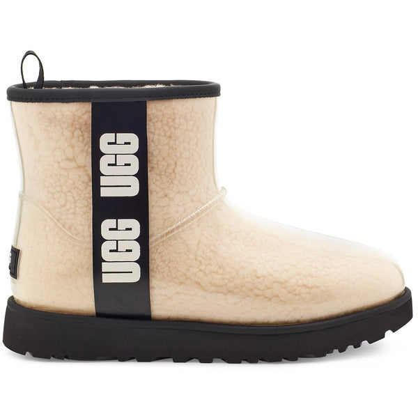 UGG Women's Classic Clear Mini in Natural/Black