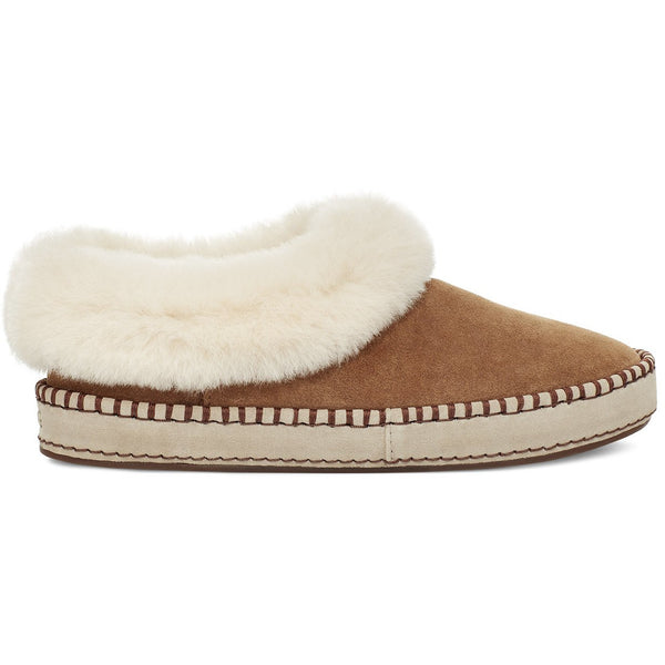 UGG WOMEN'S WRIN SLIPPER IN CHESTNUT