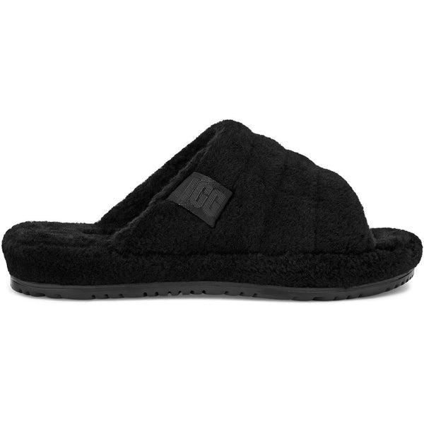 UGG All Gender Fluff You Slide in Black Tnl Fluff