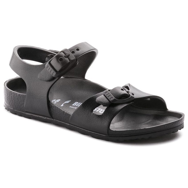 Birkenstock Kid's Rio Essentials Eva in Black