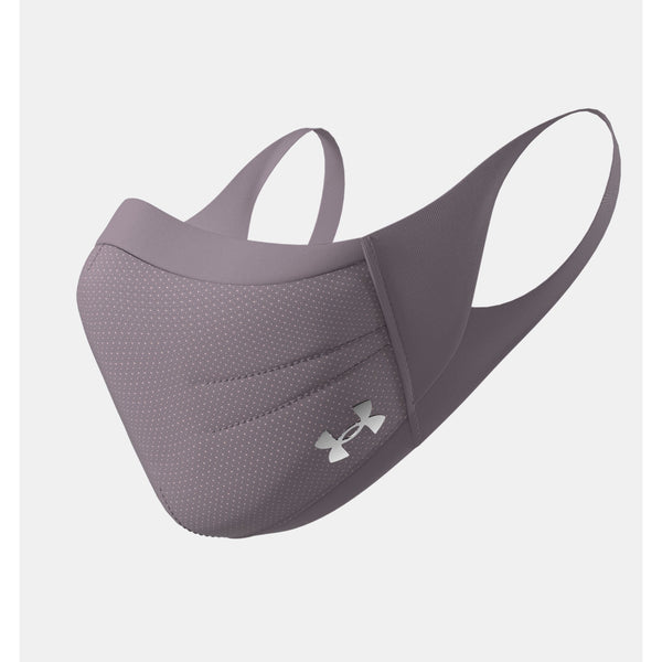 UNDER ARMOUR SPORTSMASK IN SLATE PURPLE / ARCTIC PINK / SILVER CHROME