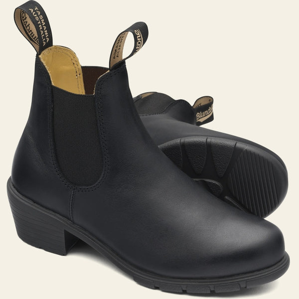 Blundstone Women's Series #1671 Heeled Boots in Black