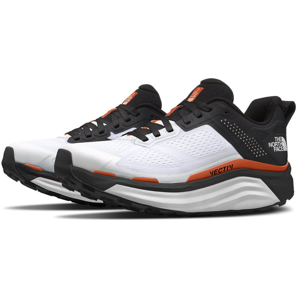 The North Face Men's VECTIV Enduris Trail Running Shoe in TNF White/TNF Black