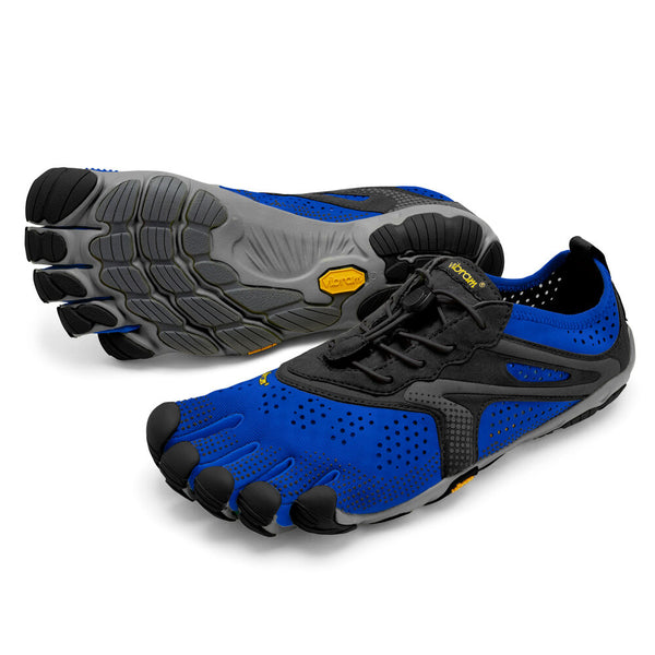 VIBRAM MEN'S V-RUN IN BLUE/BLACK