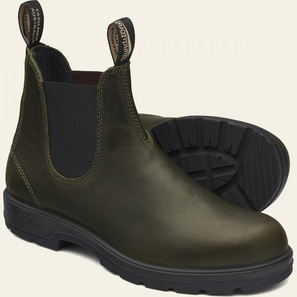 Blundstone Classic #2052 Chelsea Boot in Leather Green