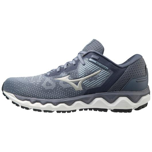 Mizuno Men's Wave Horizon 5 Running Shoe in Blue Fog