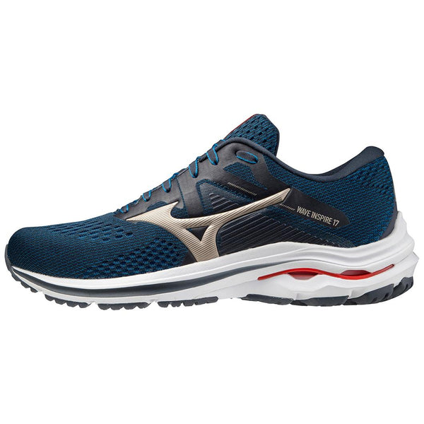 Mizuno Men's Wave Inspire 17 in India Ink