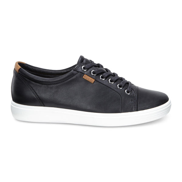 Ecco Women's Soft 7 Sneaker in Black