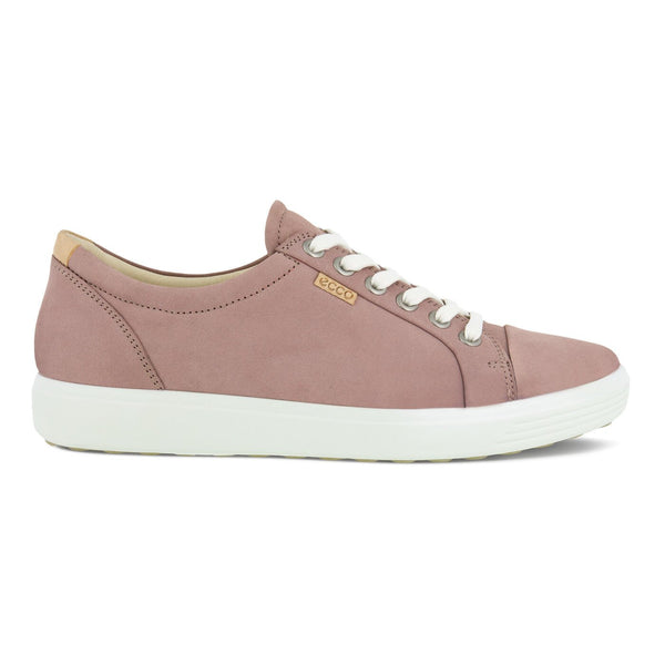Ecco Women's Soft 7 Sneaker In Woodrose Diffuse